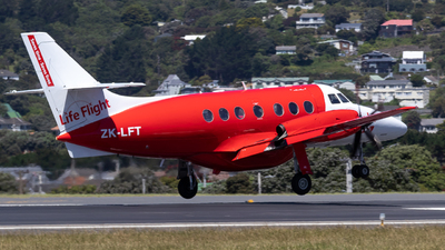 ZK-LFT - British Aerospace Jetstream 32 - Life Flight