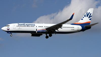 D-ASXI - Boeing 737-8CX - SunExpress Germany