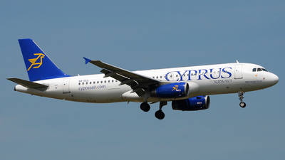 5B-DCL - Airbus A320-232 - Cyprus Airways