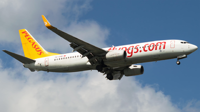 TC-CPP - Boeing 737-804 - Pegasus Airlines