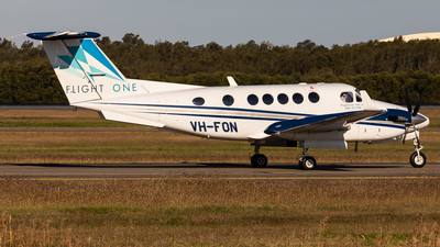 VH-FON - Beechcraft B200 Super King Air - Flight One