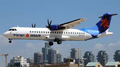 4X-ATJ - ATR 72-212A(500) - Israir