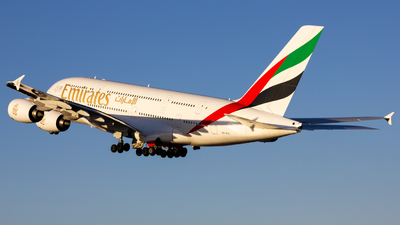 A picture of A6EOI - Airbus A380861 - Emirates - © Manuel Valenta