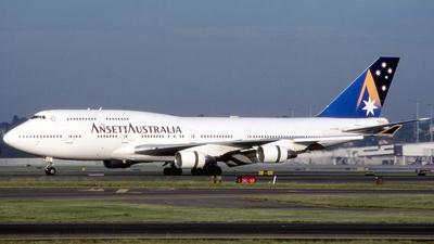 VH-ANB - Boeing 747-412 - Ansett Airlines of Australia