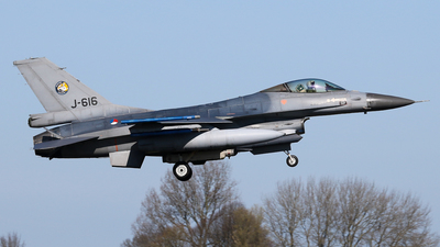 J-616 - General Dynamics F-16AM Fighting Falcon - Netherlands - Royal Air Force
