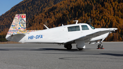 HB-DFA - Mooney M20J-201 - Private