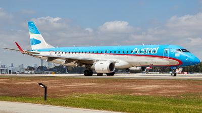 A picture of LVCHR - Embraer E190AR - Aerolineas Argentinas - © Christian Mandel