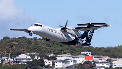 A picture of ZKNFI - De Havilland Canada Dash 8300 - Air New Zealand - © Josh Methven