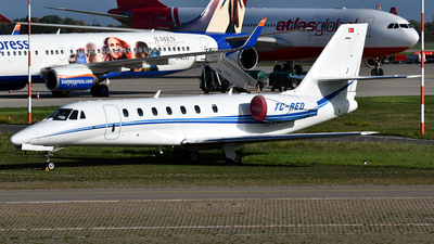 TC-RED - Cessna 680 Citation Sovereign - Private