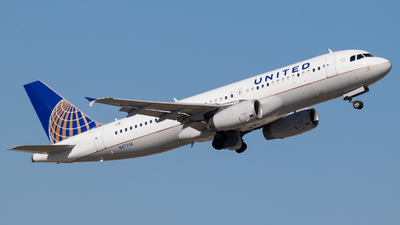 A picture of N477UA - Airbus A320232 - United Airlines - © Positive Rate Photography
