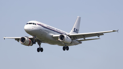 OY-KBO - Airbus A319-132 - Scandinavian Airlines (SAS)