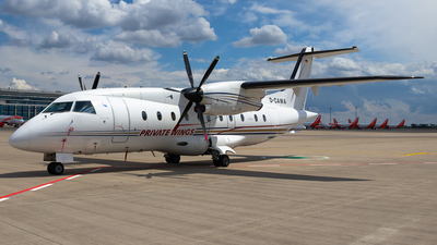 A picture of DCAWA - Dornier 328110 - Private Wings - © James Dinsdale
