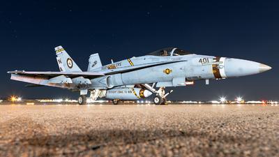 165220 - McDonnell Douglas F/A-18C Hornet - United States - US Navy (USN)
