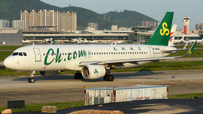 B-8591 - Airbus A320-214 - Spring Airlines