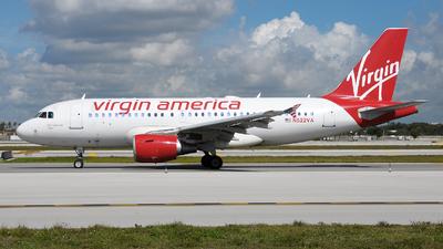 N522VA - Airbus A319-112 - Virgin America