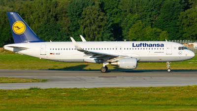 D-AIUZ - Airbus A320-214 - Lufthansa