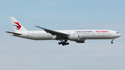 B-7365 - Boeing 777-39PER - China Eastern Airlines