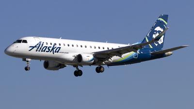 A picture of N629QX - Embraer E175LR - Alaska Airlines - © Jeremy D. Dando