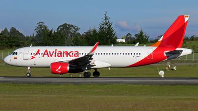 N724AV - Airbus A320-214 - Avianca