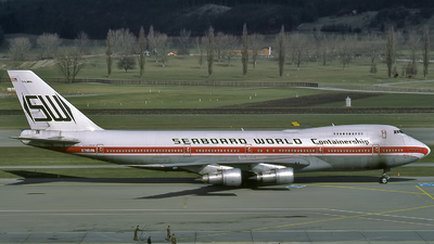 N748WA - Boeing 747-273C - Seaboard World Airlines
