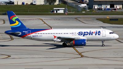 N612NK - Airbus A320-232 - Spirit Airlines