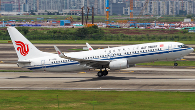 A picture of B1526 - Boeing 73789L - Air China - © CKG_SHAOYE