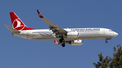 TC-JGA - Boeing 737-8F2 - Turkish Airlines