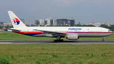 9M-MRB - Boeing 777-2H6(ER) - Malaysia Airlines