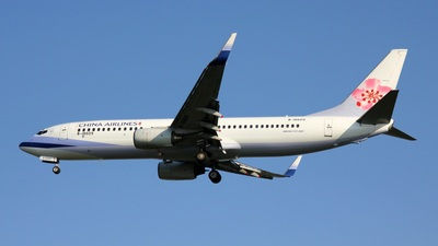 B-18609 - Boeing 737-809 - China Airlines