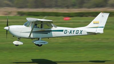 A picture of GAYGX - Cessna FR172G Rocket - [0208] - © Tartanpics