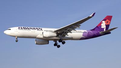 N375HA - Airbus A330-243 - Hawaiian Airlines