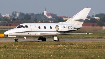 9H-SSG - Dassault Falcon 10 - Harmony Jets Malta