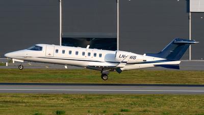 A picture of LNAWB - Learjet 45 - Airwing - © Laszlo Fekete