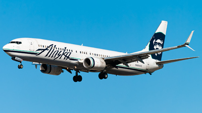 A picture of N464AS - Boeing 737990(ER) - Alaska Airlines - © Arkin Si