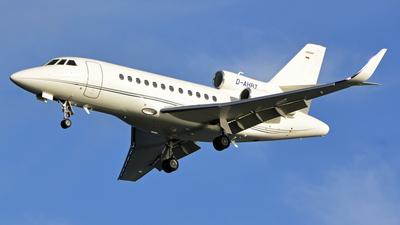 D-AHRT - Dassault Falcon 900LX - Heron Aviation