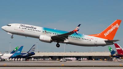 C-GKVU - Boeing 737-86N - Sunwing Airlines