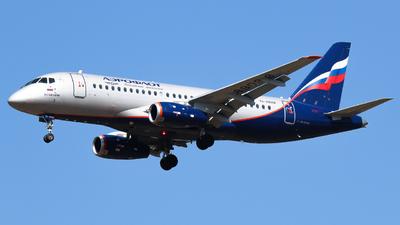 A picture of RA89098 - Sukhoi Superjet 10095B - Aeroflot - © Vitaly Revyakin