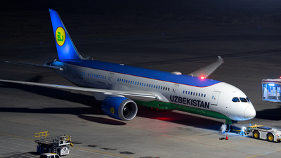 A picture of UK78705 - Boeing 7878 Dreamliner - Uzbekistan Airways - © Jensen Han