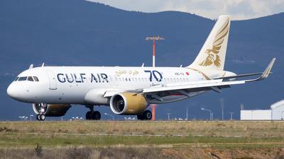 A picture of A9CTA - Airbus A320251N - Gulf Air - © Kostas Marmarelis