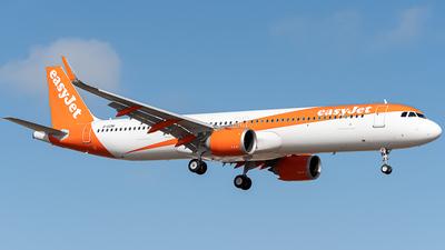A picture of GUZMI - Airbus A321251NX - easyJet - © PANZERI TOMMASO