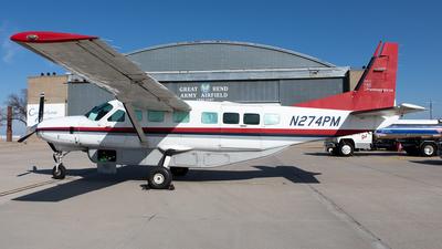 N274PM - Cessna 208B Super Cargomaster - Planemasters