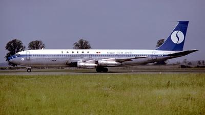 OO-SJN - Boeing 707-329C - Sabena