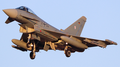 31-04 - Eurofighter Typhoon EF2000 - Germany - Air Force