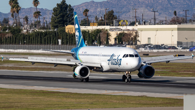 A picture of N621VA - Airbus A320214 - Alaska Airlines - © 702Aviationn