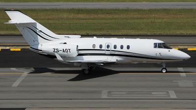 ZS-AOT - Raytheon Hawker 800XP - Private