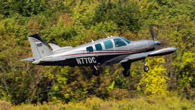 N77DC - Beech A36 - Private