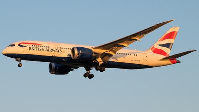 A picture of GZBJD - Boeing 7878 Dreamliner - British Airways - © Gautham Kurup