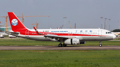 B-1820 - Airbus A320-232 - Sichuan Airlines