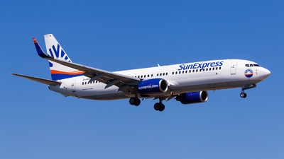 D-ASXU - Boeing 737-8FH - SunExpress Germany