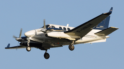 A picture of FHNAK - Beech C90A King Air - ENAC Ecole Aviation Civile - © Gabriele Fontana - Tuscan Aviation